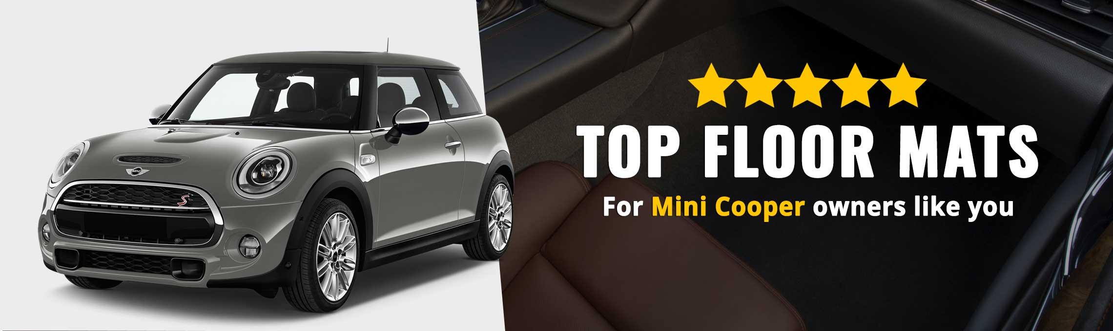 Mini Cooper Floor Mats | Custom Mini Cooper Floor Mats & Liners