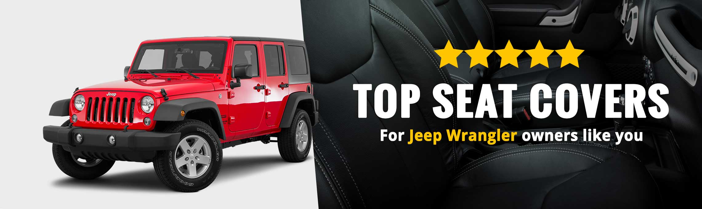 Jeep Wrangler Seat Covers | Custom Fit Seat Covers