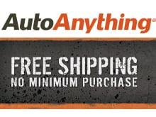 AutoAnything - Free Shipping with No Minimum Purchase