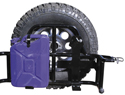 Jeep Spare Tire Covers & Carriers