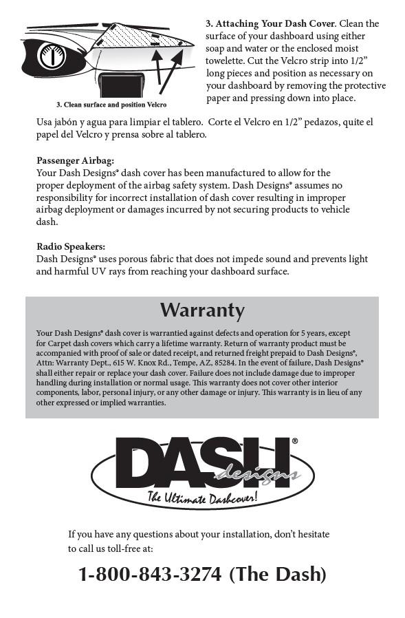 Dash Designs Dashtex Custom Dashboard Cover Dash Designs Dashtex Dash Mat Cover