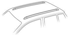 Thule Flush Rails