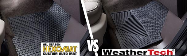 Hexomat Vs Weathertech What S The Best Car Floor Mat