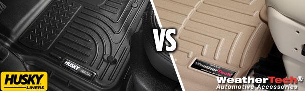 husky liners vs. weathertech: choosing the best floor mats & cargo