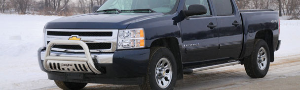 How To Install A Brush Guard On A Chevy Silverado Grille