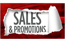 Sales & Specials