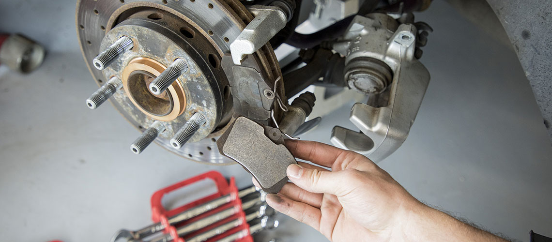 Scuffs on your Brakes and Rotors
