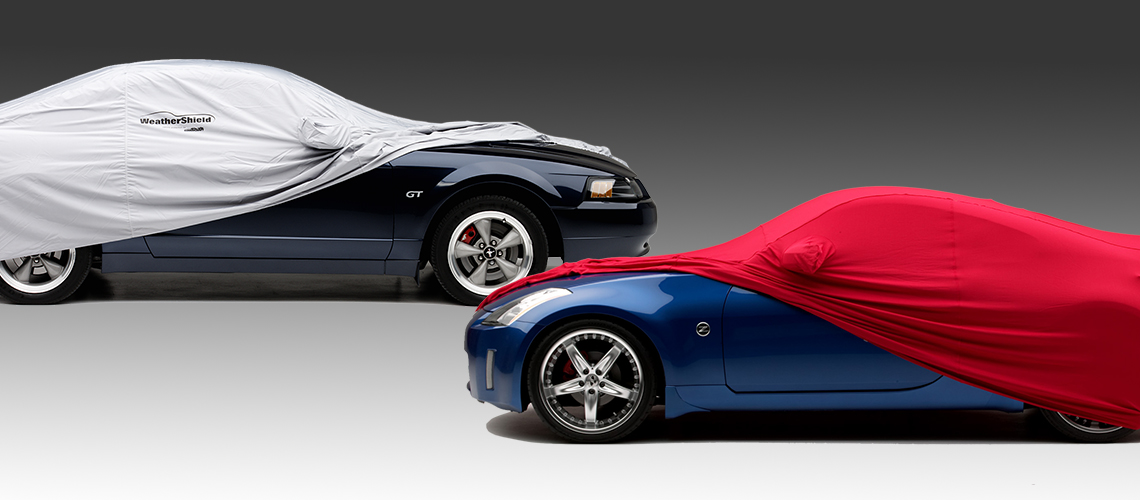 Indoor and outdoor car covers