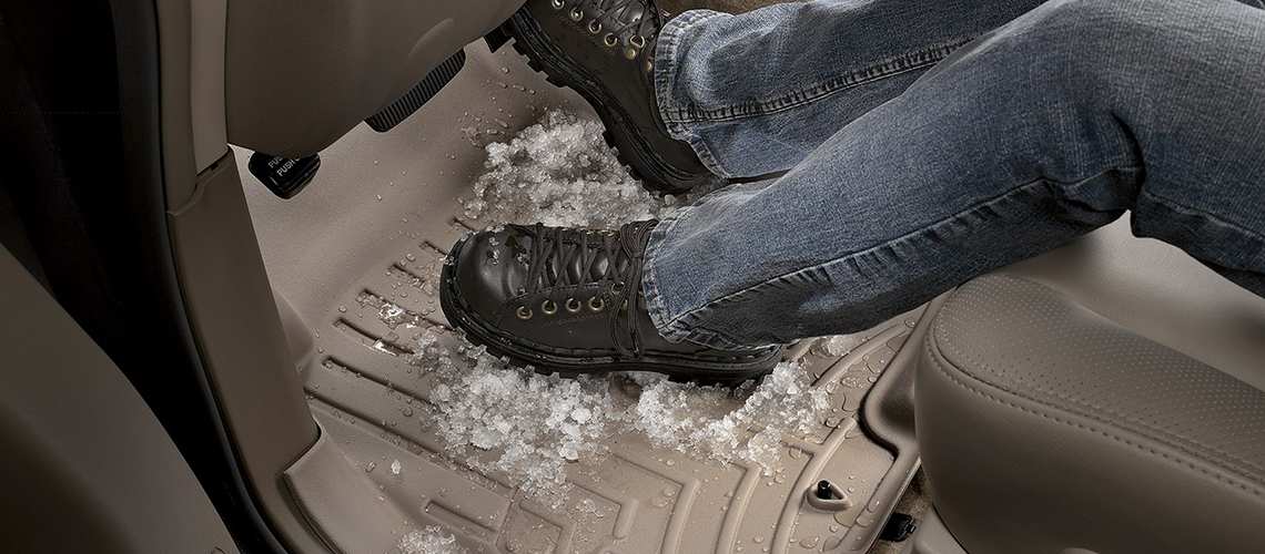 all weather floor liners against snow hail mud rain