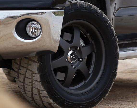 Enkei Wheels on Toyota Tundra