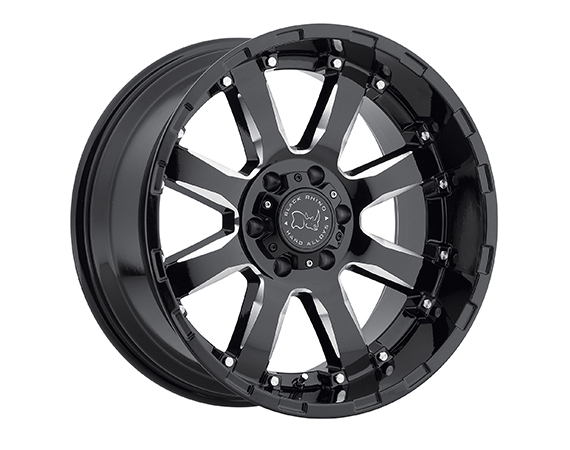 Black Rhino Sierra Truck Wheels