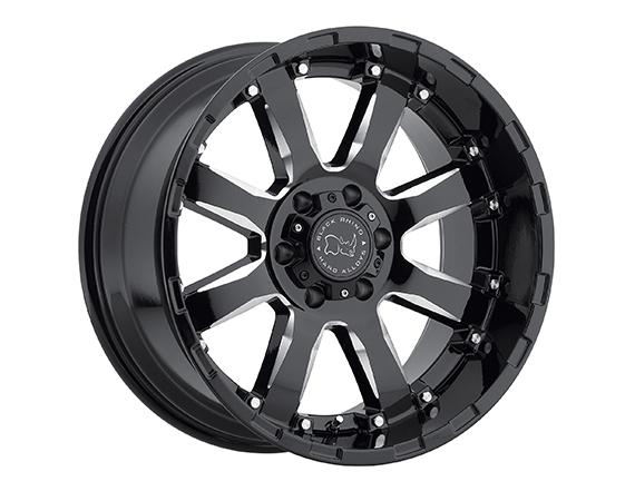 Black Rhino Sierra Truck Wheels