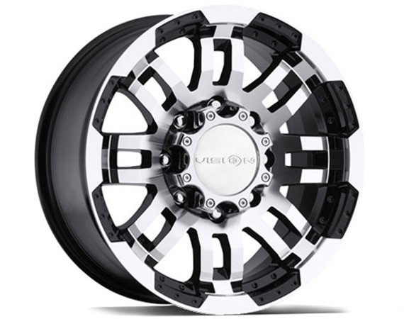 Vision Warrior Wheels