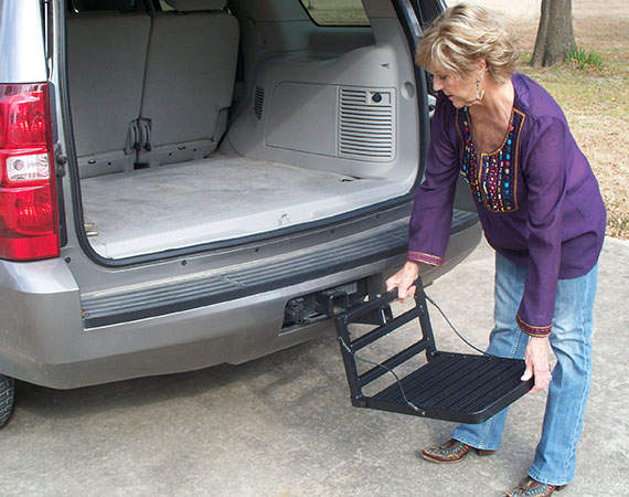 Hitch Step Installation