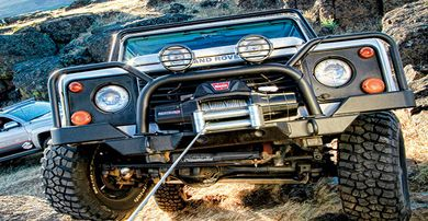 Warn Zeon Winches
