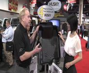 AutoAnything Interviews Husky Liners at SEMA 2012