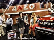 At The Anzo USA Booth