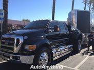 Ford F 650 With Harley Davidson In The Bed