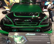 Kia Dc Comics Green Lantern Kia Soul