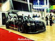Slammed Audi