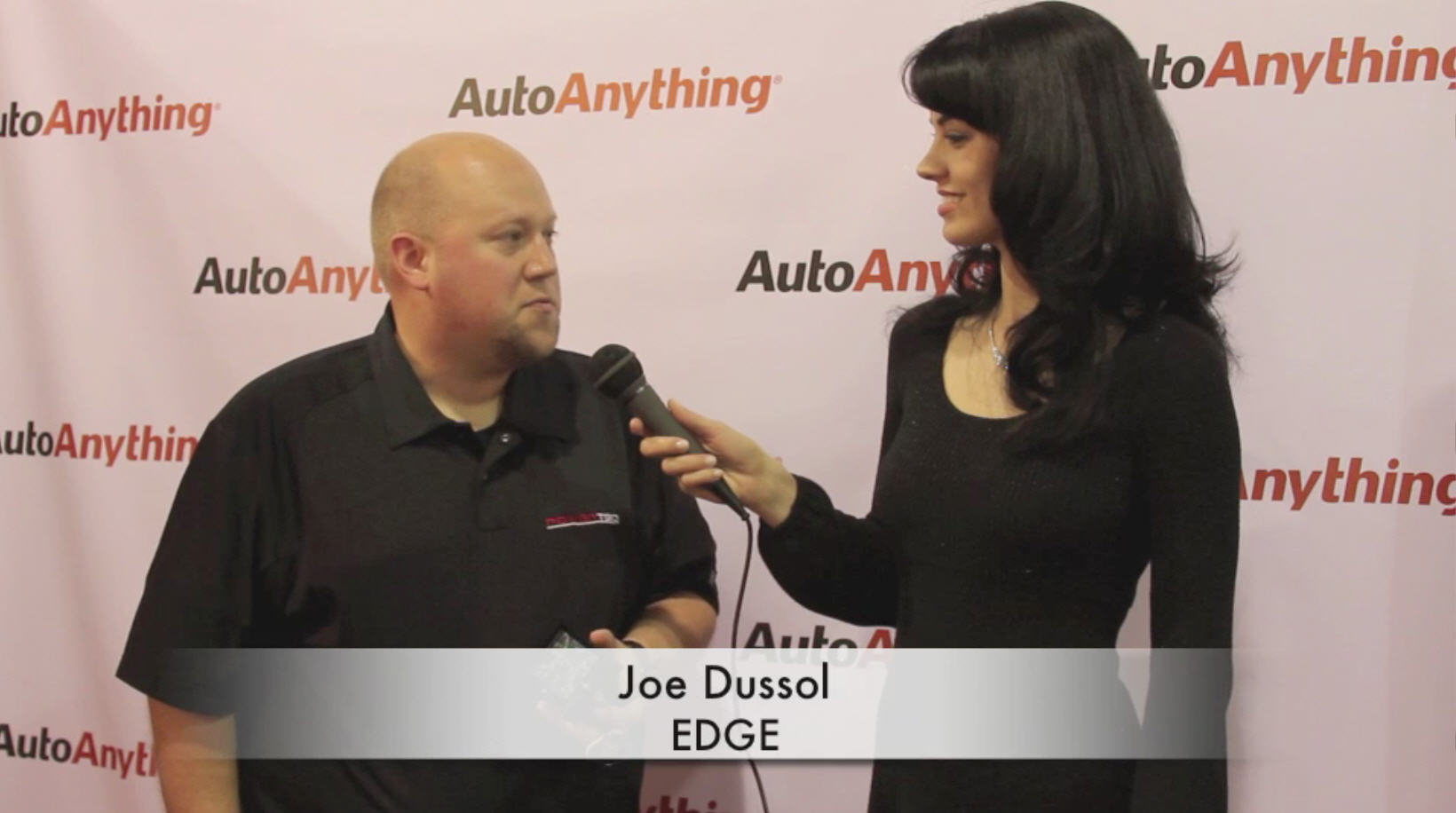 Edge Chips Interview Video with AutoAnything at SEMA 2011