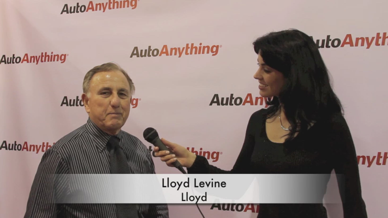 Lloyd Mats Interview Video with AutoAnything at SEMA 2011