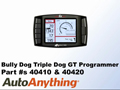 Bully Dog Triple GT Programmer for the 2011-2012 Ford F150 & F250