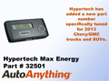 Hypertech Max Energy Programmer Part #32501 for the 2013 Chevy Silverado & GMC Sierra