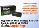 Hypertech Max Energy Programmers for the 2012 Nissan Frontier, Pathfinder and XTerra