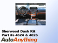 Sherwood Innovations Dash Kit Part #4626 for the 2013 Acura RDX