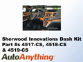 Sherwood Dash Kit for the 2012 Honda CRV