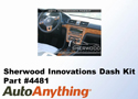 Sherwood Innovations Dash Kit for the 2012 Volkswagen Passat