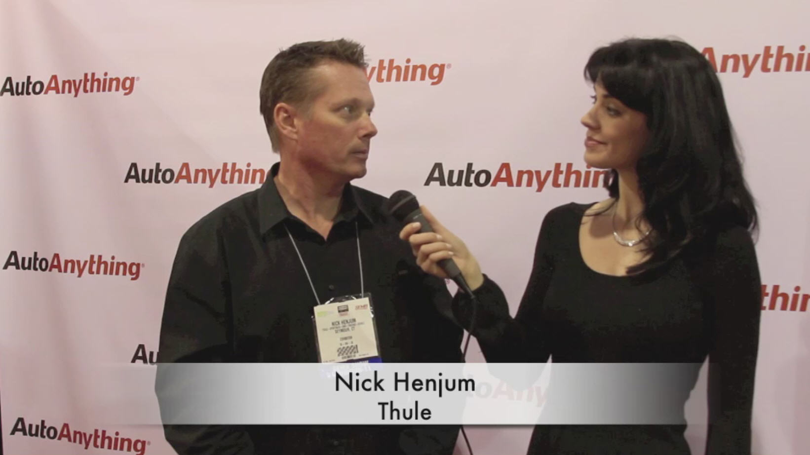 Thule Racks Interview Video with AutoAnything at SEMA 2011