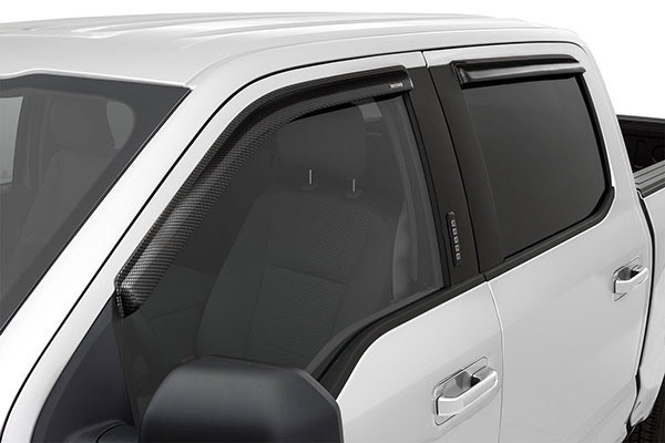stampede tape onz carbon fiber side window deflectors