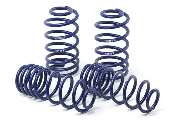 1990-2017 Volkswagen Golf H&R Sport Lowering Coil Springs 8267-11-304-1990