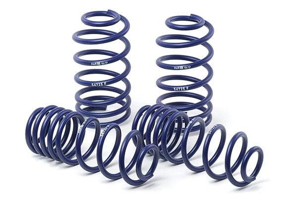 h r sport lowering coil  springs