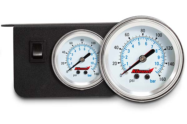 kleinn dash mount air pressure gauges hero