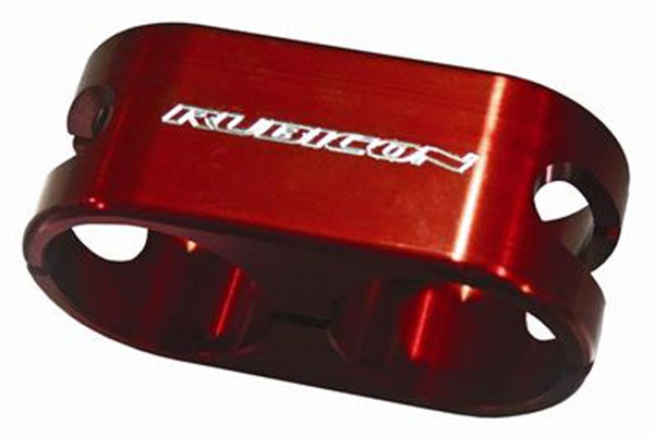 rubicon express billet reservoir shock clamp hero