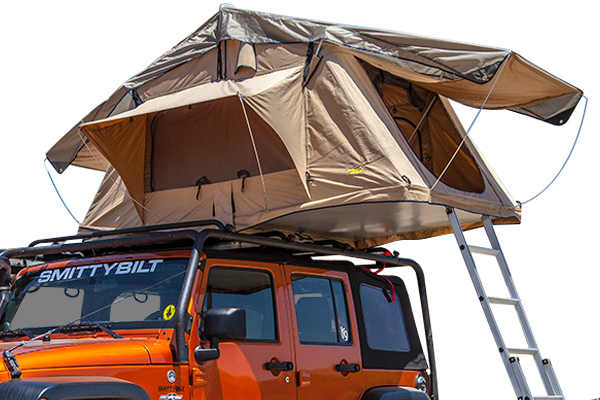 smittybilt overlander rooftop tent  sc 1 st  AutoAnything : jeep canopy tent - memphite.com