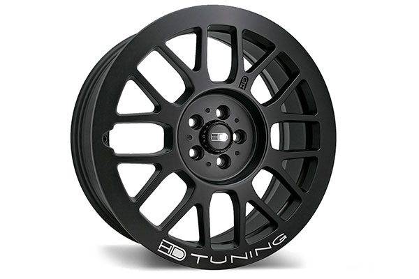 hd wheels gear matte black milled accents  2