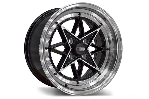 hd wheels hd wheels rsl gloss black machined  2