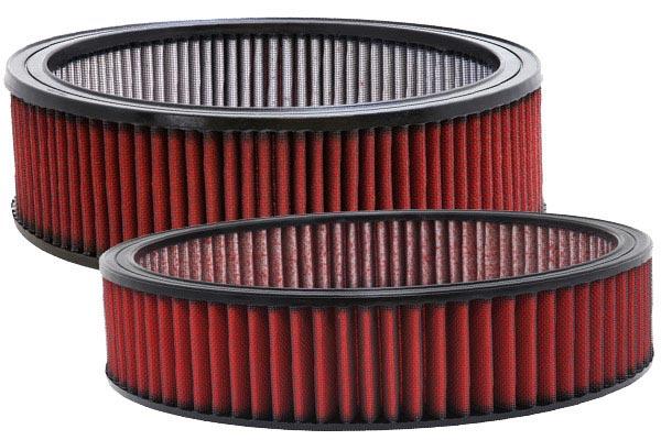 aem dryflow universal round air filters