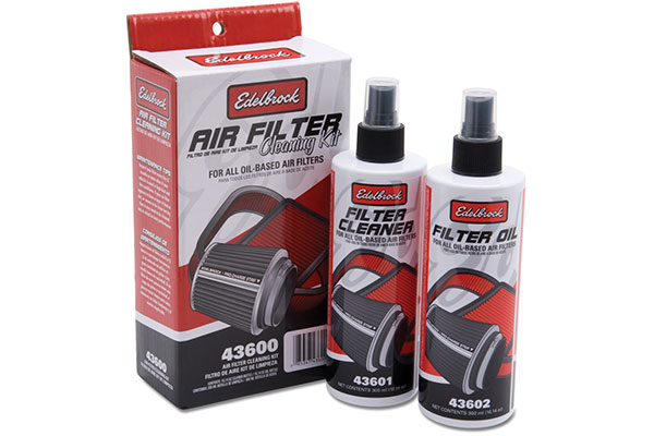 edelbrock pro charge air filter cleaning kit