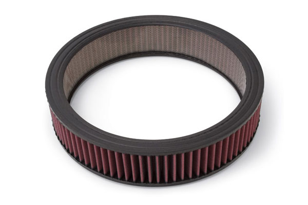 edelbrock universal replacement air filter