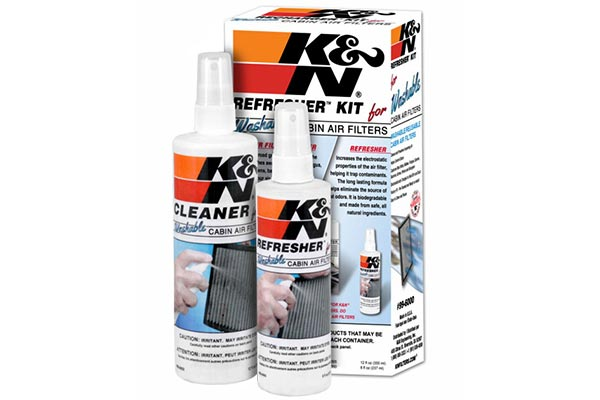 k n cabin air filter refresher kit