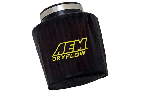 aem dryflow prefilter air filter wrap