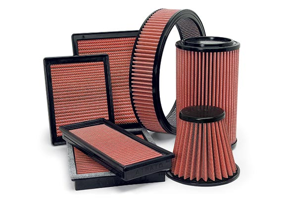 2004 Mercedes-Benz CLK-Class AirAid SynthaFlow Air Filters 850-270 7316-850-270