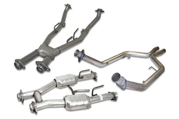 bbk exhaust crossover pipes