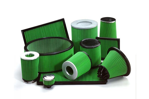 Jeep CJ Air Filters - Custom Fit - Green Air Filters 2101-33-359-50341