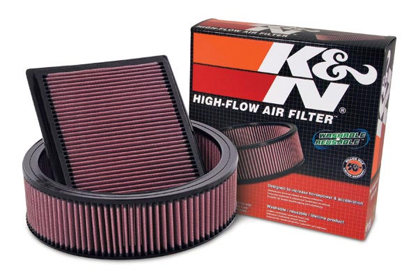 1991 Mercedes-Benz 420 K&N Air Filters E-2872 2090-E-2872
